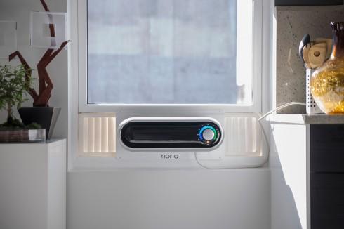 Noria窗式智能空调创意,美观精致小巧创意设计
