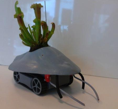 让植物追随阳光的机器人创意设计