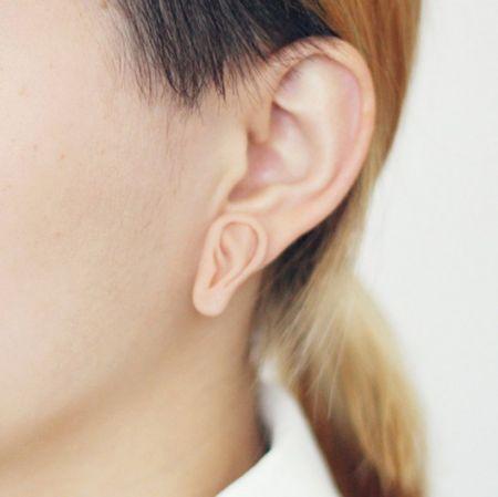 耳朵想型耳针创意设计