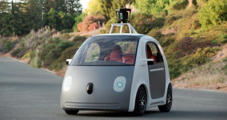 Google最新发布无人驾驶汽车创意设计