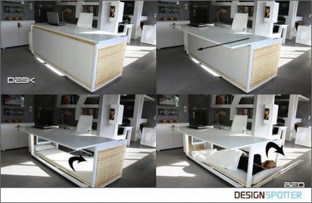 两用办公桌创意设计