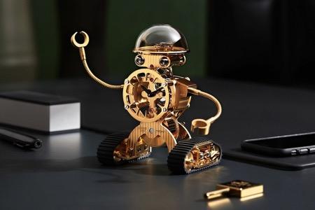MB&F坦克机器人钟表创意,Sherman创意设计