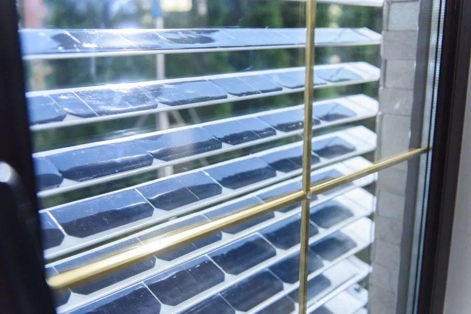 智能太阳能百叶窗创意设计