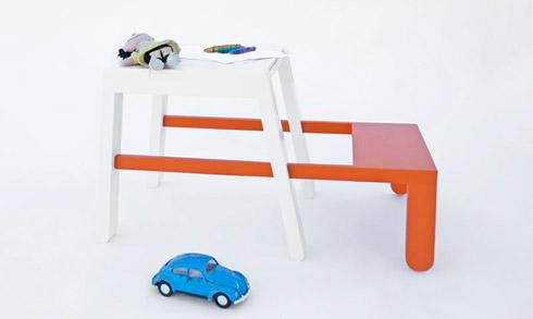 简单多用变形座椅创意设计