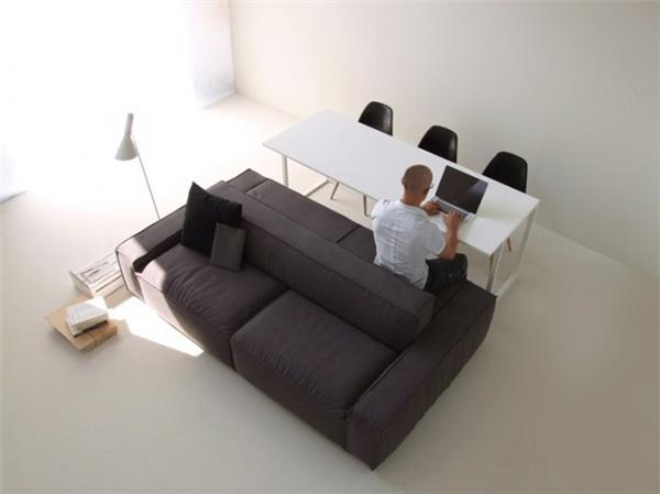 简约双边沙发创意设计