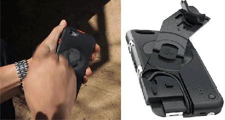 手摇发电手机壳创意设计