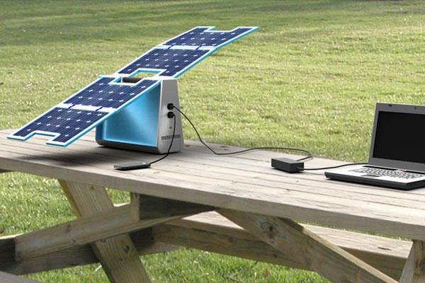 Volta太阳能移动电源创意设计