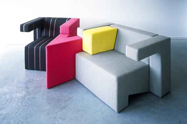 可以任意组合的沙发创意设计