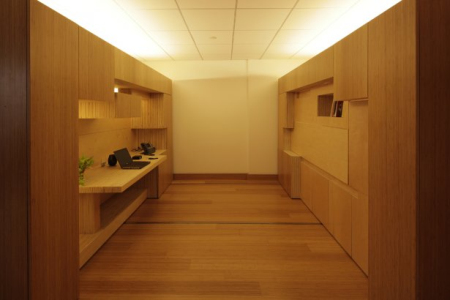 灵活的滑动间隔办公室创意设计