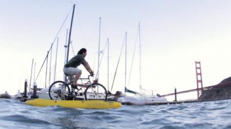 单车水上漂创意设计