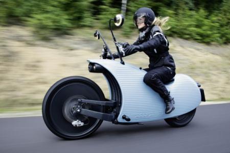 趣怪又动力强劲的蜗牛电动摩托车创意设计