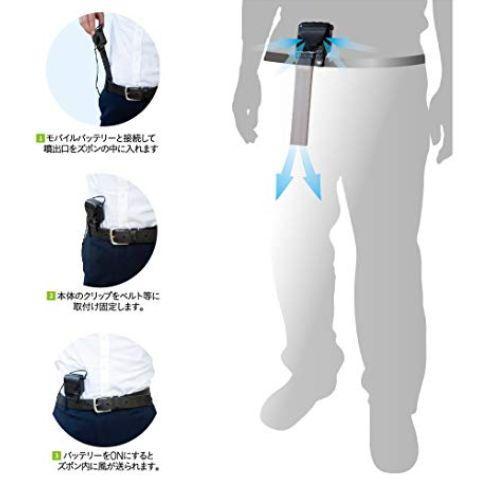 日本又出奇葩神器创意,裤裆风扇创意设计