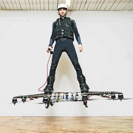 Omni创意,Hoverboards,风力飞行滑板创意设计