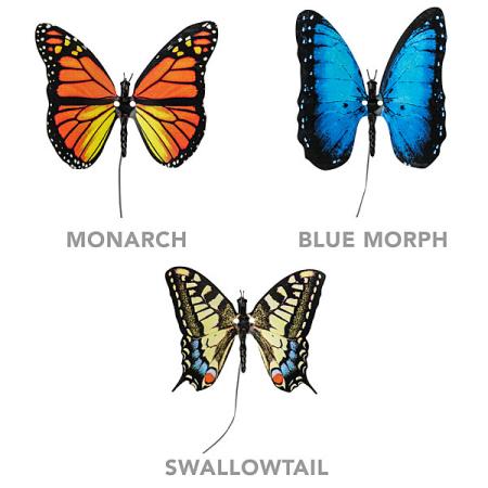 逼真的电子蝴蝶创意设计