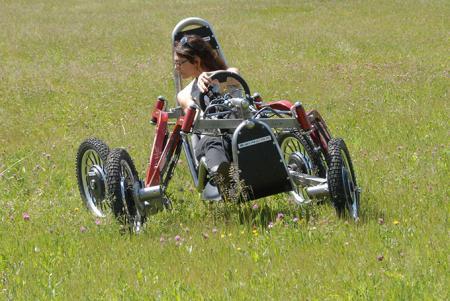 电动四驱越野车创意,Swincar,E-Spider创意设计
