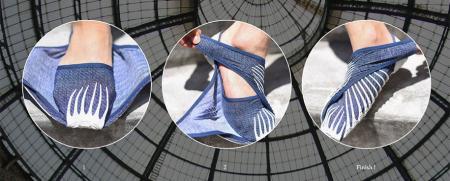 超轻便包裹式运动鞋创意设计
