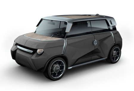 丰田随意换壳概念车创意设计