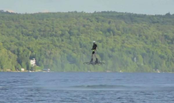 水上悬浮飞行滑板创意设计