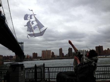 帆船风筝创意设计