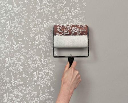 花纹墙壁粉刷创意设计