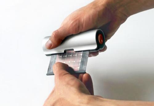 卷轴式太阳能充电器创意设计