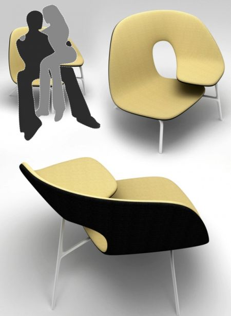 拥抱座椅创意设计