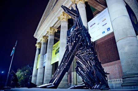 巨型木板动物雕塑创意设计