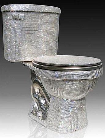 水晶马桶创意设计