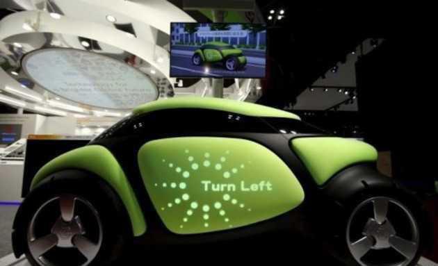全球首辆橡胶反弹汽车创意,车身还能显示图文