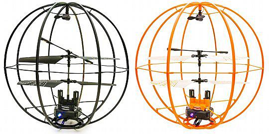 神奇球型飞行器创意设计