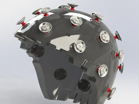 新型摩托车头盔创意设计