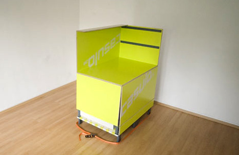 移动卧室家具套装创意设计