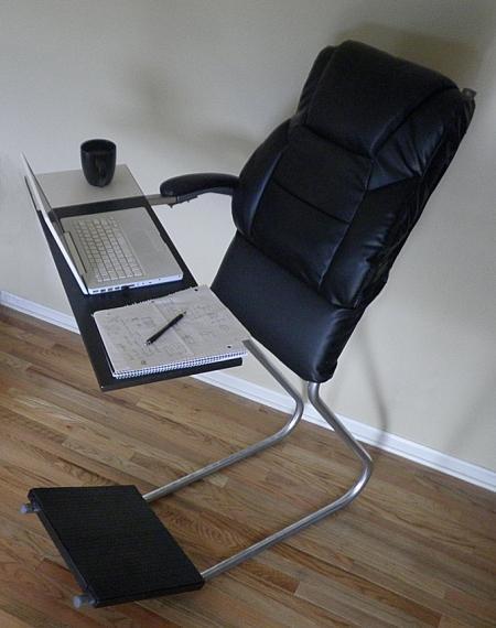 斜靠式站立办公桌创意设计