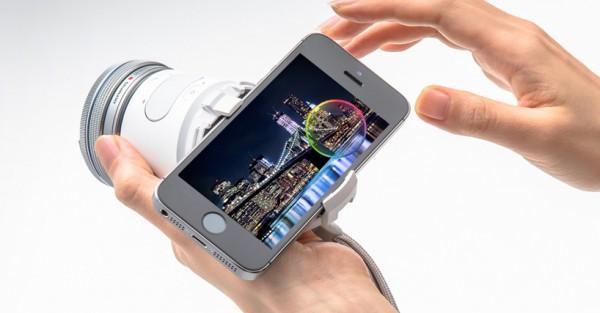 Olympus推出智能手机镜头创意设计