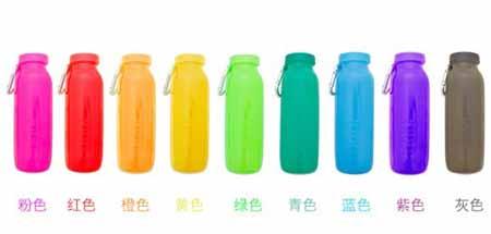 折叠硅脂水瓶创意设计