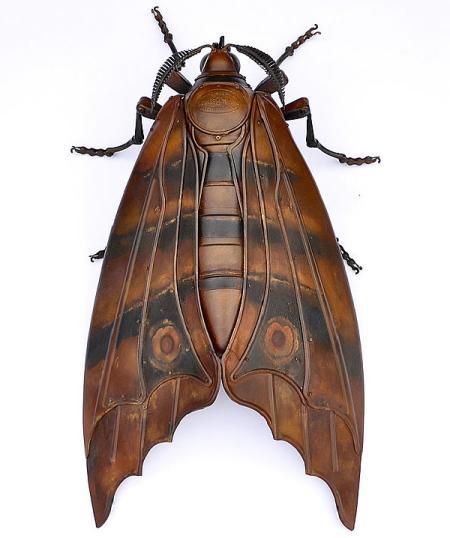 逼真机械昆虫创意设计