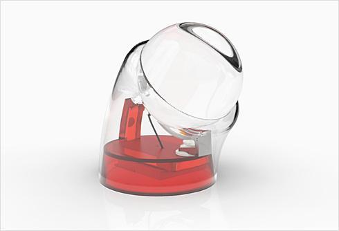 球形透镜太阳能充电器—Beta.ey创意设计
