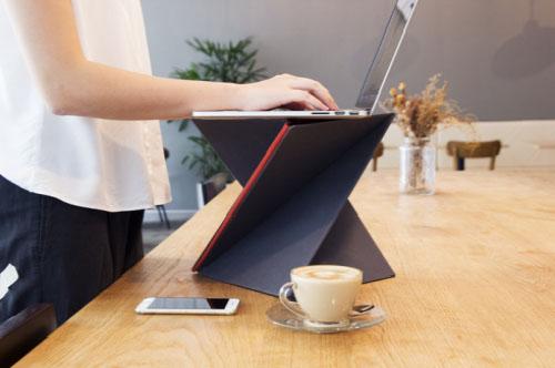 LEVIT8创意,折叠笔记本支架创意设计