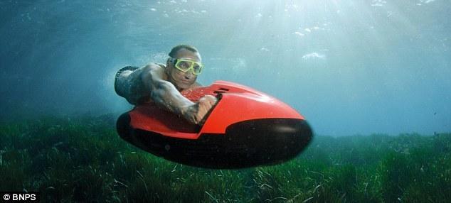 德国Cayogo公司的水中喷射器创意设计