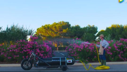 水动力喷射自行车创意,时速260公里