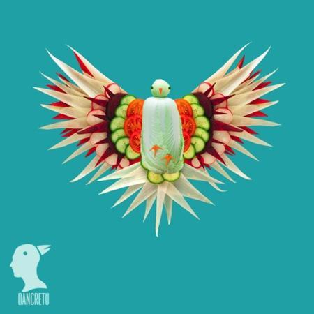 创意果蔬动物雕刻创意设计