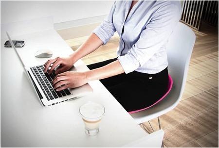 让你拥有正确坐姿的坐垫创意设计