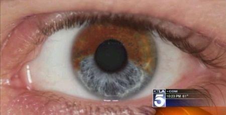 惊人的眼球变色技术创意设计