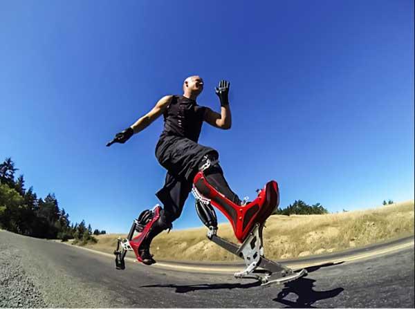 仿生鞋创意设计创意,穿上它比世界冠军还跑得快