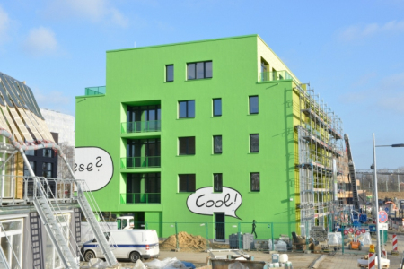 德国汉堡的全球首座海藻住宅创意设计