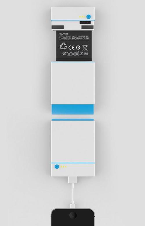 2014年红点概念奖获奖作品创意,废旧电池变移动电源