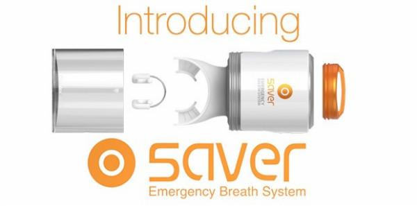 微型应急呼吸器创意,火灾中可避免吸入浓烟