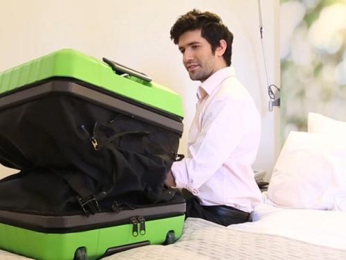 """可""""变大""""的行李箱创意设计"""