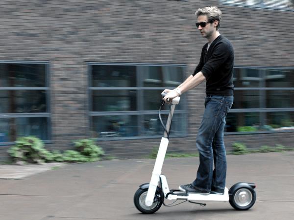 折叠电动滑板车创意设计