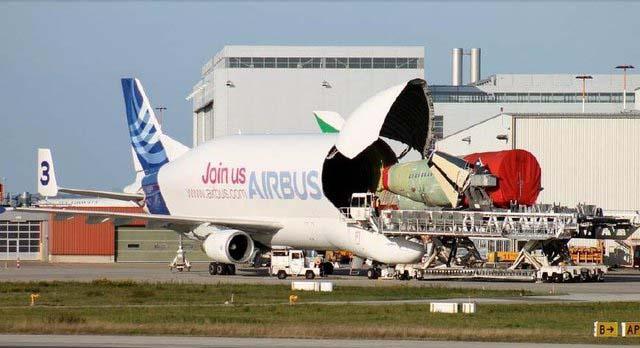 """能吞下波音客机创意,号称""""大白鲸""""的超巨型运输机"""